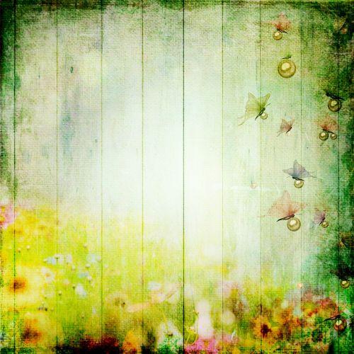 iškarpų albumas,fonas,popierius,foninis iškarpų albumas,Scrapbooker,spalva,žalias,gamta,gėlės