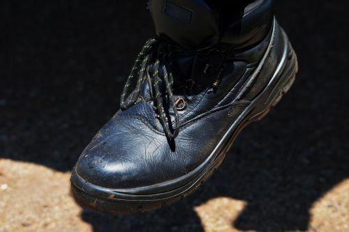 boot, batai, avalynė, dėvėti, šlifuotas, juoda, patikimas, purvinas juodas boot