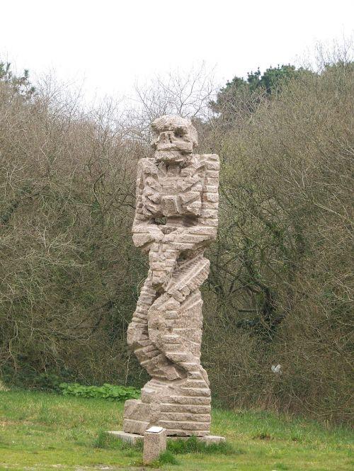 skulptūra,statula,granitas