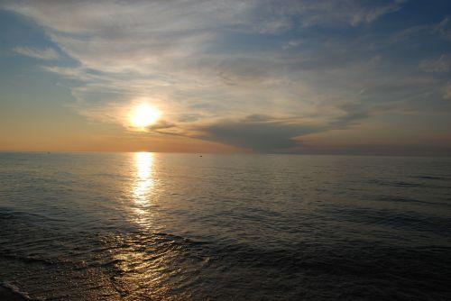 jūra,Baltijos jūra,saulėlydis,Baltijos jūros pakrantė,Krantas,vakaruose,vanduo,kraštovaizdis,vaizdas,Lenkija