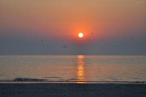 jūra,ežeras,saulėlydis,papludimys,vanduo,saulė ir jūra,Baltijos jūra,abendstimmung,vasara,gamta,vis dar,poilsis