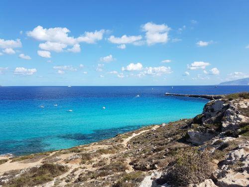 jūra,mėlynas,sicilija