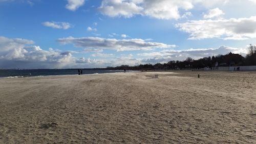jūra,smėlis,papludimys,Baltijos jūra,vasara,kraštovaizdis,debesys,Lenkija,dangus,ramus jūra,Baltijos jūros pakrantė,atostogos,vaizdas,gamta,Krantas,Jastrzębia góra,panorama