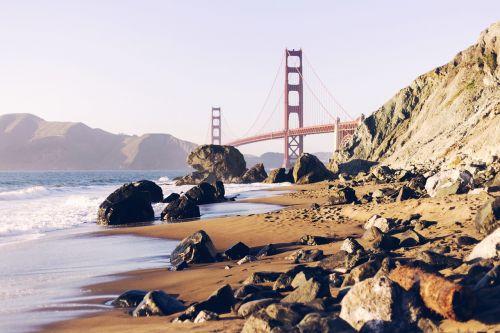 jūra,vandenynas,mėlynas,vanduo,gamta,Rokas,uolos,papludimys,kranto,Krantas,tiltas,struktūra,dangus,kalnas