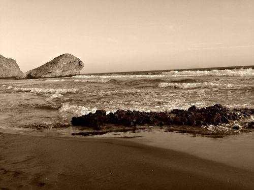jūra,los kabinos,cabo de gata,saulėlydis