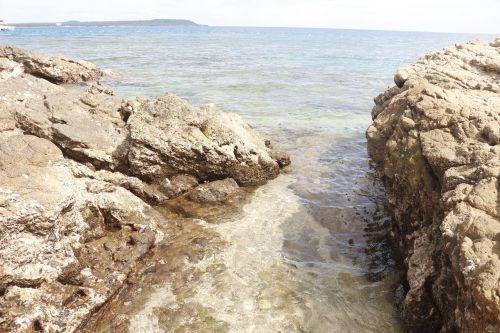 jūra, akmenys, vanduo, gamta, pakrantė, pakrantė