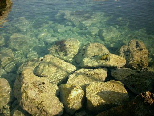 jūra, aišku, vanduo, skaidrus vanduo, gamta, šventė, Viduržemio jūros, turkis, Rokas, kranto, skaidrus, užsakytas, akmenys