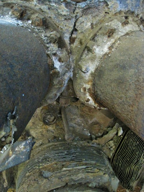 variklis, erozija, skilimas, žalą, tekstūruotos, jūros oro erozija variklyje