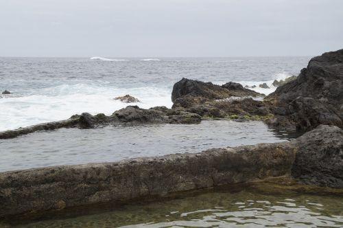 jūros baseinas,plaukiojimo baseinas,jūros vanduo,plaukti,атлантический,apsaugotas,naršyti,banga,natūralus baseinas,vanduo,vandens baseinas,natūralus baseinas,lava baseinas,Tenerifė,į šiaurę nuo Tenerifės,Kanarų salos