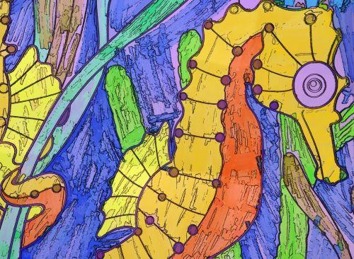 jūrų arkliukas, jūrų pėstininkai, jūra & nbsp, arklys, piešimas, rožinis, jūra drakonas, vienaragis, atogrąžų, Laisvas, viešasis & nbsp, domenas, pokemonas, geltona, oranžinė, gyvūnas, meno, menas, atkreipti, animacinis filmas, jūrų arkliukas