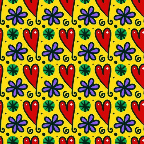 besiūliai,plytelės,pakartoti,modelis,tekstilė,tapetai,fonas,dizainas,besiūlus modelis,modelis besiūlis,fonas vientisas,foninis modelis,meilė,širdis,gėlės,doodles,formos