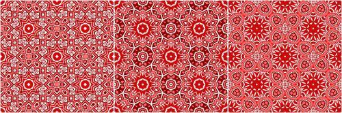 besiūliai, modelis, Kaleidoskopas, kaleidoskopinė, fonas, besiūliai raštai raudonai