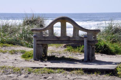 vandenynas, jūra, papludimys, stendas, sėdynė, sėdėti, sėdi, sėdynė paplūdimyje