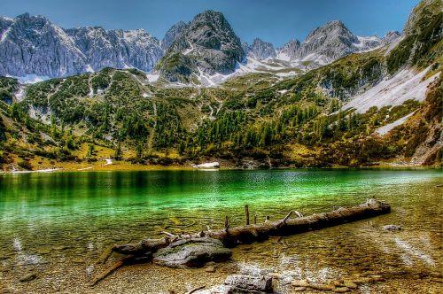 seebensee,tyrol,kalnai,žygiai,kraštovaizdis,austria,Alpių,Bergsee,Tirolo Alpės,poilsis,idilija,vanduo,dangus