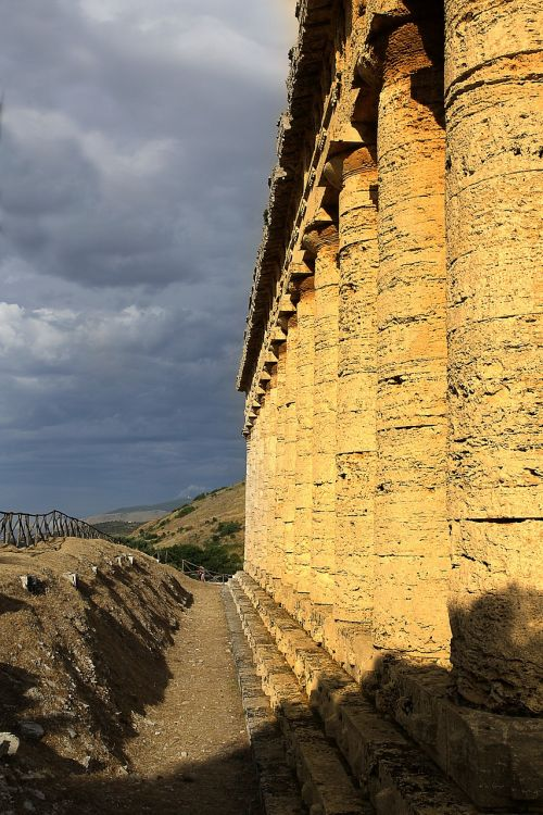 Segesta,sicilija,šventykla