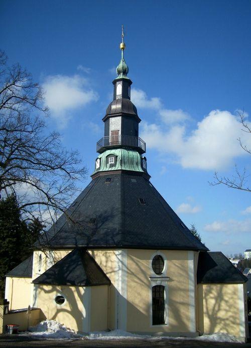 seiffen,bažnyčia,garbinimo namai,pastatas,namai,architektūra