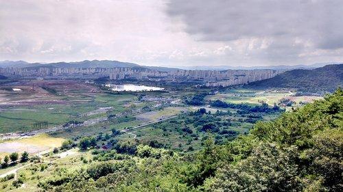 Sedžongas, taip pat, Pietų Korėjos sostinė, Lake Park, veiksmų, pirmas kaimas, Miestas, Šalis, Korėja taip pat, Korėja