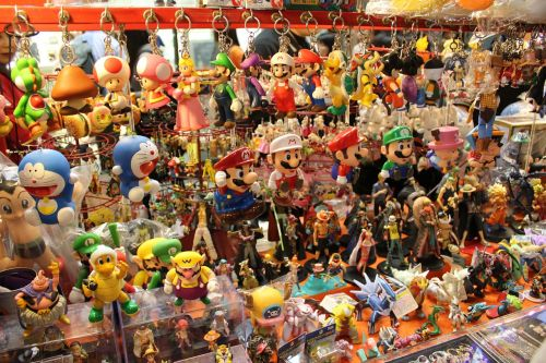 Seulas,Korėja,pardavėjas,turgus,blusas,gatvės turgus,gatvės prekeivis,stendas,verslas,užsakyti,žaislai