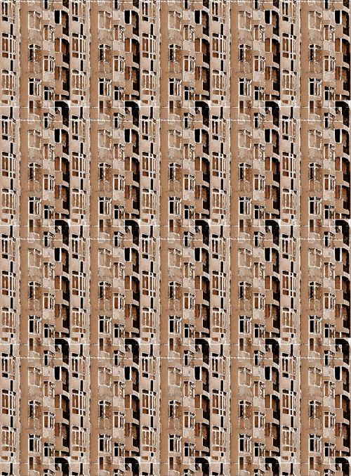 sepija, modelis, tinklelis, pastatas & nbsp, veido, tapetai, sepija aukštybinių pastatų kopijavimas