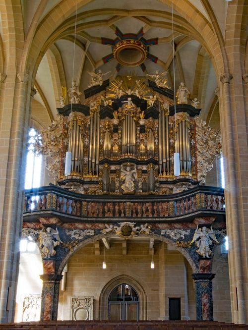 severikirche,erfurtas,Turingijos federalinė žemė,Vokietija,Senamiestis,lankytinos vietos,organas,menas,meno kūriniai,muzika,Europa,architektūra,tikėjimas,religija,bažnyčia