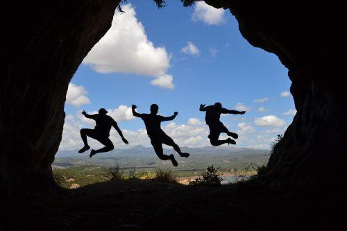 šešėlis,šokinėti,Draugystė,energija,vaizdas,Graikija