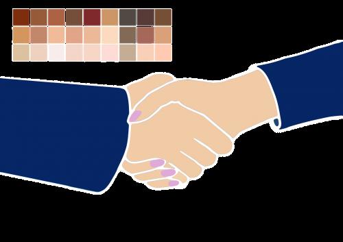 purtant rankas,vyras,moteris,oda,odos spalva,spalva,spalvų paletė,diapazonas,bendradarbiavimas,siluetai,žmogus,Draugystė,Asmeninis,kartu,duoti rankas