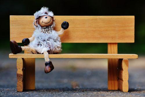 avys,bankas,sėdėti,juokinga,mielas,figūra