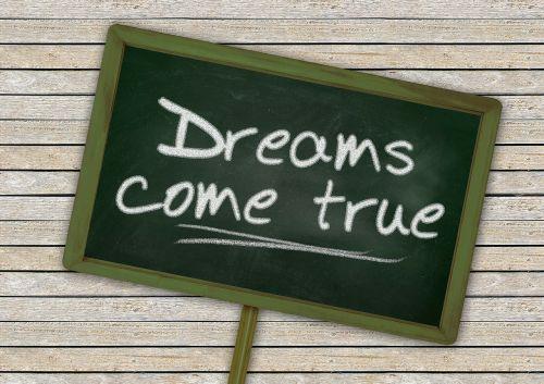 skydas,lenta,svajones,šrifto,būti tiesa,realizuoti,tikrovė,viltis,mokykla,žalias,lentos,siena,sienų plokštės,svajonė,mediena