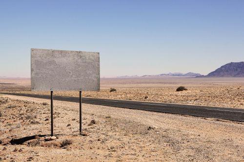 skydas, kelias, Namibija, informacijos lentos, ženklai, pastaba, kryptis, važiuojamosios kelio dalies, lenta