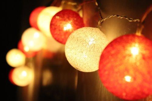 šviesti, Kalėdų, šviesos, obuolys