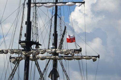 laivas,lenkų vėliava,Lenkija,lenkas,vėliava,patriotizmas,Lenkijos vėliava,tėvynė,tauta,lenkų kalba,laivas,stiebu,burės,jūra