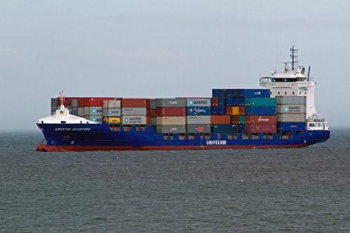 laivyba,konteineriai,Šiaurės jūra
