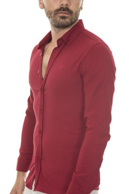 marškinėliai,raudona,Patinas,išsamiai,jaunas modelis,ryški spalva,fonas,suaugęs,tekstilė,gražus,kontaktas,poveikis,studija,mada,spalvotas vaizdas,gražus,drabužiai,audimas