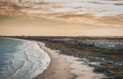 kranto linija,kranto,pakrantė,papludimys,antena,vaizdingas,vanduo,smėlis