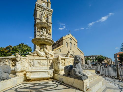 sicilija,skulptūra,Messina,bažnyčia,paminklas,italy,katedra,kvadratas,Miestas,sicilija