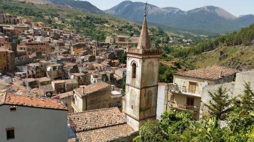 sicilija,kaimas,vaizdas