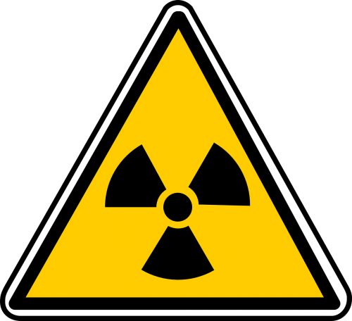 ženklas,branduolinė,uranas,atominė,simbolis,piktograma,pavojingas,pavojingas,radioaktyvumas,reaktorius,pramoninis,budrus,rizika,nemokama vektorinė grafika