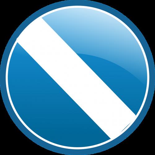 ženklas,draudžiama,ne,ne,ne,mėlynas,balta,ratas,mygtukas,nemokama vektorinė grafika