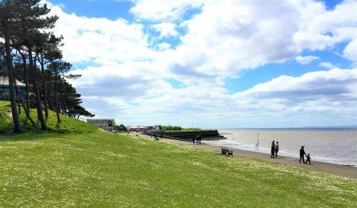 silloth, Kambrija, Anglija, kalvos, Škotija, solway, firth, vaikščioti, Krantas, žiauninis krantas