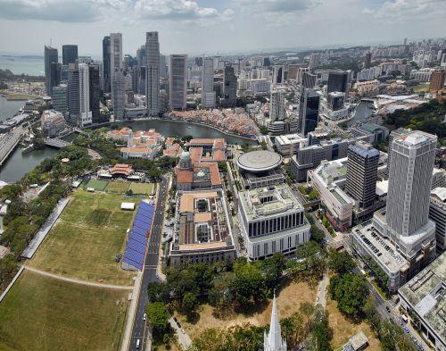 Singapūras,miesto panorama,architektūra,miestas,panorama,asija,verslas,centro,panorama,centrinis,metropolis