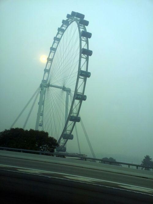 Singapūras & nbsp, skrajutė & nbsp, migla, miglainas & nbsp, oras, june & nbsp, 2013, Singapūras, dūmai, smogas, migla, Singapūras & nbsp, skrajutė, Singapūras lėktuvo migla