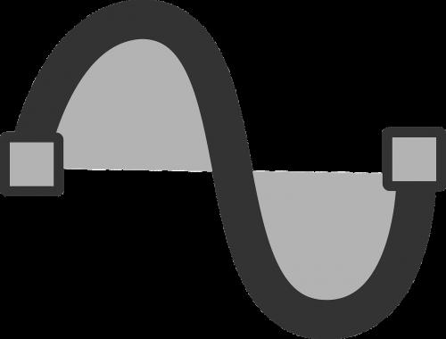 sinusas,sinusoidinis,kreivė,trigonometrija,skersinis,banga,nemokama vektorinė grafika