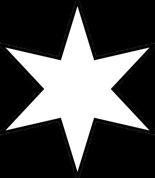 šešia žvaigždė,moravinė žvaigždė,žvaigždžių daugiakampis,žvaigždė,Kalėdų žvaigždė,žvaigždutė,nemokama vektorinė grafika