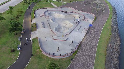 skate,riedlenčių parkas,oro vaizdas,riedlentė,prototipas,projektas