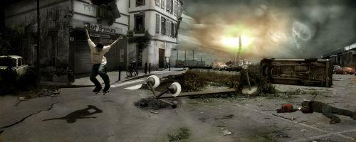 skate,apokaliptinis,pasimatymų diena,avarija,naktis,revoliucija,nelaimė,pavojus,nužudymas,dramatiškas