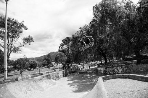 riedlenčių parkas, skate, parkas, važinėjimas riedlente, poilsis, laimingas, pratimas, jaunimas, didelis oras, oras, šokinėti