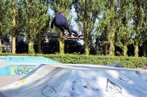 važinėjimas riedlente, čiuožimo, Sportas, sportas, triukai, demonstracijos, čiuožėjas, marco, važinėjimas riedlente