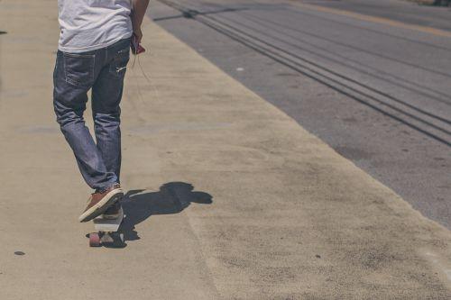 kelias, riedlentė, avalynė, važinėjimas riedlente, asfaltas, Sportas, sporto & nbsp, įranga, kojos, žmonės, važinėjimas riedlente