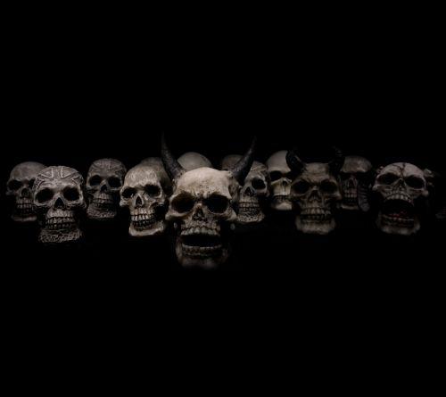 kaukolės,siaubas,mirtis
