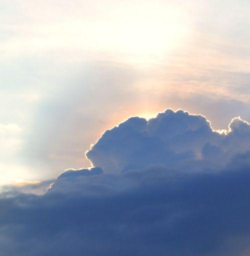 dangus,Debesuota,šviesa,skraidantis,stebuklas,saulė,debesuota dangaus